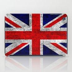 Union Jack Grunge Flag iPad Case