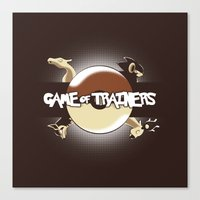Game Of Trainers Canvas Print