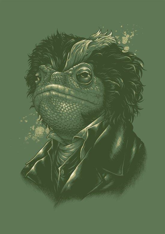 Sweeney Toad Art Print