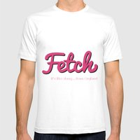 Fetch Mens Fitted Tee White SMALL