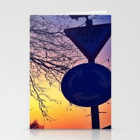 Give Way Stationery Cards