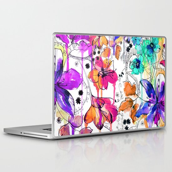 Lost in Botanica Laptop & iPad Skin