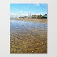 Timeless Beach Canvas Print