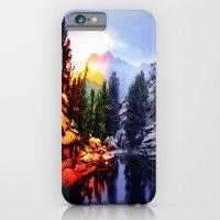 iPhone & iPod Case featuring Colorado Flag/Landscape by Stolen Milk