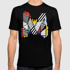 M for ... Mens Fitted Tee Black SMALL