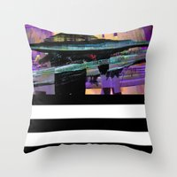 Object Down Throw Pillow