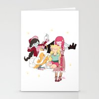 Braids Time Stationery Cards