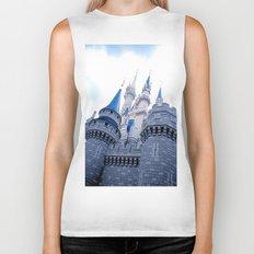 Disney Castle In Color Biker Tank