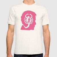Drive movie head poster mashup Mens Fitted Tee Natural SMALL