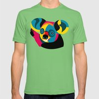 Koala Mens Fitted Tee Grass SMALL