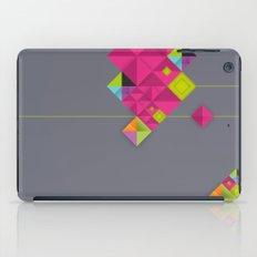 Optical illusion_grey iPad Case