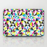 Watercolor Geometry CMYK iPad Case