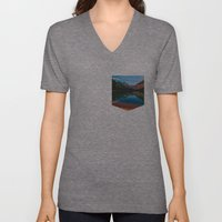 Somewhere in the Rockies Unisex V-Neck