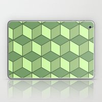 Lime Cubes Laptop & iPad Skin