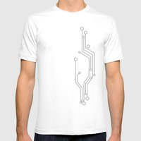 Circuit Signs  Mens Fitted Tee White SMALL