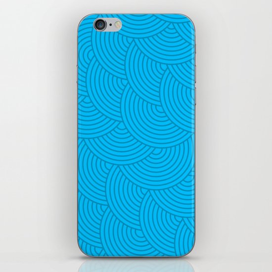 Dark Waves iPhone & iPod Skin