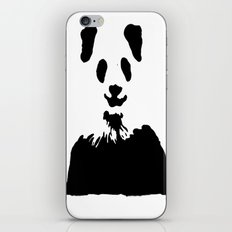 Pandas Blend into White Backgrounds iPhone & iPod Skin