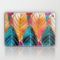Colorful Leaves Pattern Laptop & iPad Skin