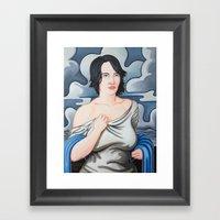Cloud Cover Brings The R… Framed Art Print
