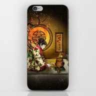 Camellia Tea iPhone & iPod Skin