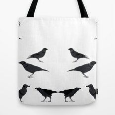 kargalar (crows) Tote Bag
