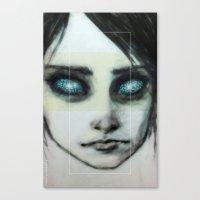 Godhead (the Girl o4) Canvas Print