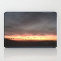 Fired Horizons iPad Case
