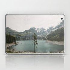 Lone Switzerland Tree - Landscape Photography Laptop & iPad Skin