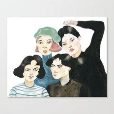 Seoul Metro Canvas Print