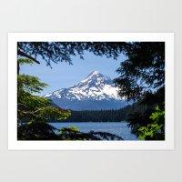 Mount Hood From Lost Lak… Art Print