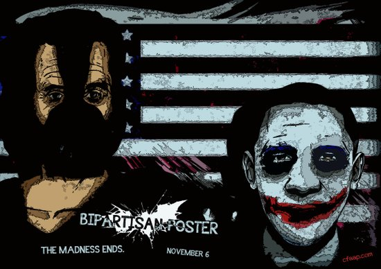 Bipartisan Poster Art Print
