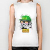 Stormtrooper Swag Biker Tank