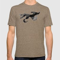 Gos Drac Mens Fitted Tee Tri-Coffee SMALL