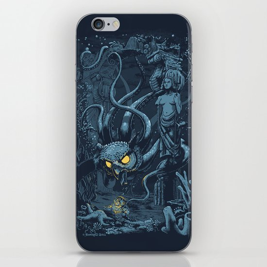 Defender of the Deep  iPhone & iPod Skin
