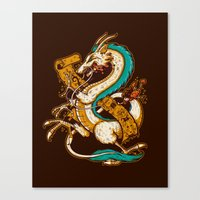 SPIRITED CREST Canvas Print