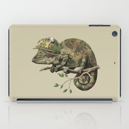 Born to Hide  iPad Case