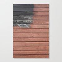 Red Vs. Black Canvas Print