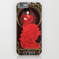 iPhone & iPod Case featuring Lydia Nouveau - Beetleju… by CaptainLaserBeam