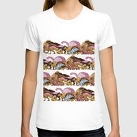 Jurassic Sweet | Deluxe Edition Womens Fitted Tee White SMALL
