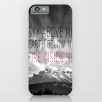 iPhone & iPod Case featuring FIRE INSIDE ME by SUNLIGHT STUDIOS  Monika Strigel