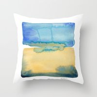 Color Field No. 2 Throw Pillow