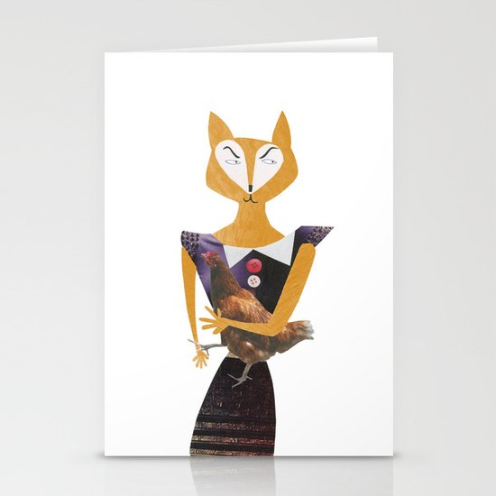 Miss sneaky Stationery Card