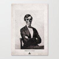 Abram is Dead Canvas Print