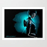 Quorra Art Print