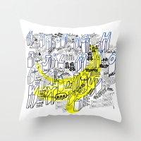 Pop Art Throw Pillow