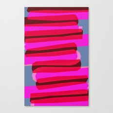Pink stack  Canvas Print