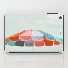 beach umbrella iPad Case