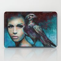 Lady with the Falcon iPad Case