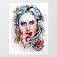 A Taste So Sweet Art Print