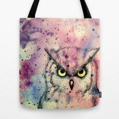 Owl Watercolor/Pen&Ink Tote Bag